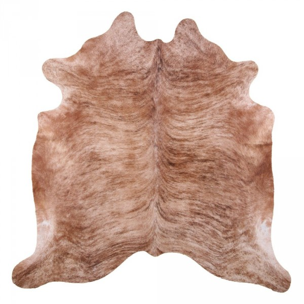 SOUTH AMERICAN COW HIDE 3-5 M2 MEDIUM BRINDLE (1)