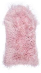 Icelandic lambskin, 90+, long hair, pale pink (1)